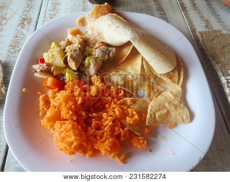 Characteristic Mexican Dish Of Yucatan Mexico Characteristic Mexican Dish Of Yucatan Mexico