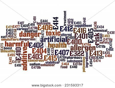 Emulsifiers, Stabilisers, Thickeners And Gelling Agents Word Cloud 4