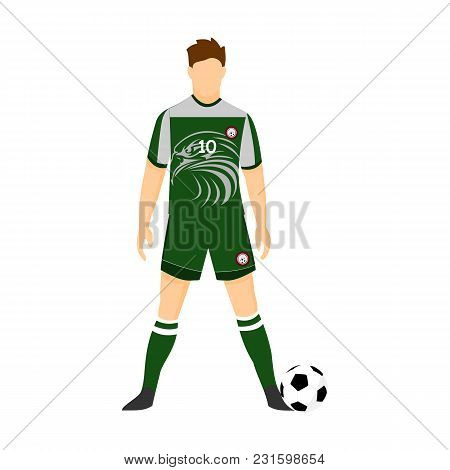 Nigeria Football Jersey National Team World Cup Vector Illustration Graphic Design