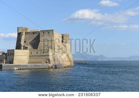 Egg Castle (castel Dell'ovo) - Naples - Italy