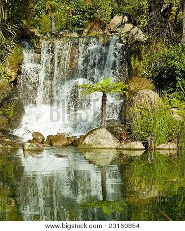Waterfall at Rainbow Springs