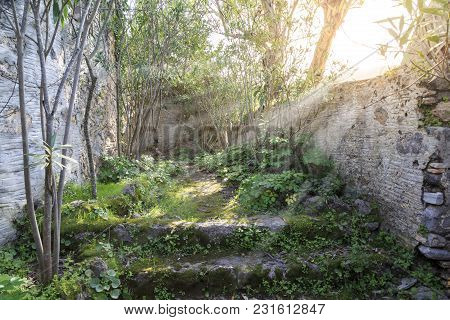 Passages In Kayakoy (karmylassos) Old Greek Village In Fethiye, Turkey