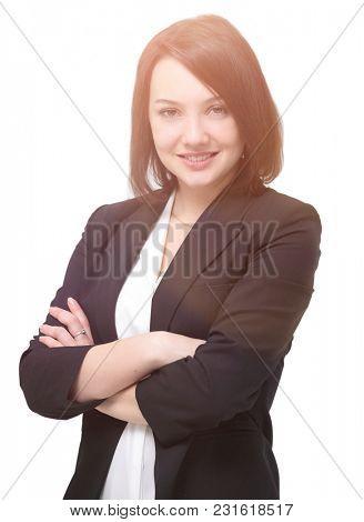 portrait of successful business woman.