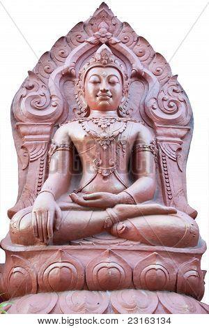 buddha image at golden triangle