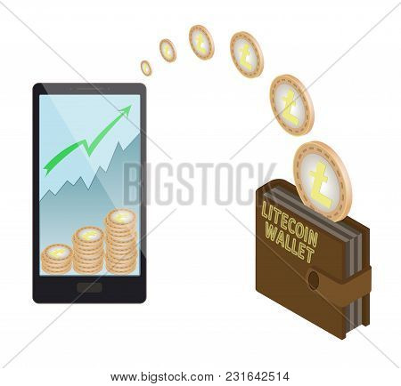 Transfer Litecoin Coins In The  Electronic Wallet, Buying And Transfer Litecoin Coins To  Electronic