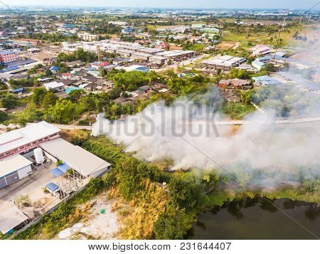 Smoke Caused By Stubble Burning