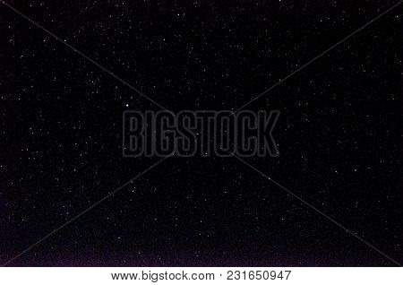 Background Of A Lot Stars In Sky