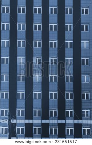 Windows On The Facade Of A Multi-storey Building