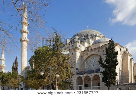 Istanbul, Turkey - March 27, 2012: The Suleiman Mosque.