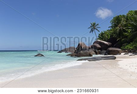 Marvelous Paradise Beach On Silhouette Island, Seychelles