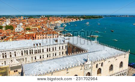 Venice Skyline With The Doge's Palace