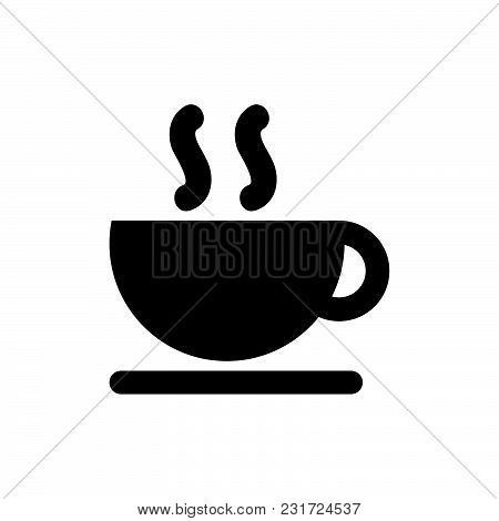 Coffee Icon Isolated On White Background. Coffee Icon Modern Symbol For Graphic And Web Design. Coff