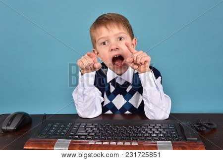 Child, Boy, Baby, Kid,little, Cute, Computer, White, Childhood, Laptop, Young, Music, Keyboard, Educ