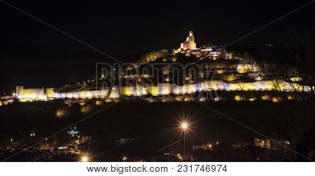 Veliko Tarnovo Is A Town Located In Northern Bulgaria, The Center Of The Region Of The Same Name As