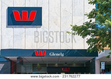 Glenelg, Australia - November 13, 2017: Westpac Bank In Glenelg, South Australia