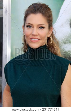LOS ANGELES - FEB 17:  Tricia Helfer at the World Premiere Of