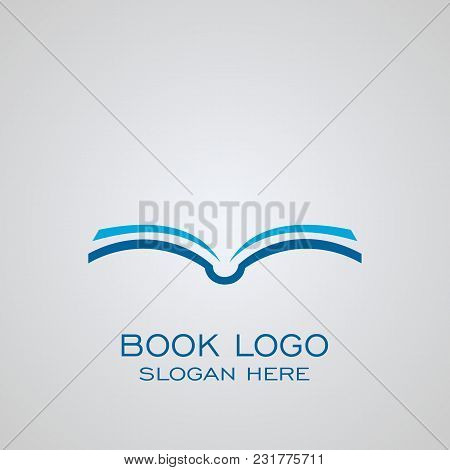 Book Logo, Business Logo, Publishing Logo, Education Logo.
