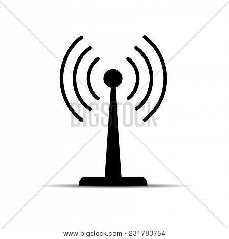 Wi-fi Icon. Zone Wifi. Vector Ilustration On White Backgraund.