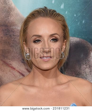 LOS ANGELES - MAR 12:  Nastia Liukin arrives for the 'Tomb Raider' US Premiere on March 12, 2018 in Hollywood, CA