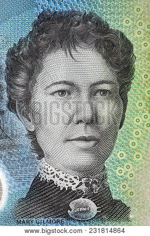Mary Gilmore Portrait From Australian Money - Dollar