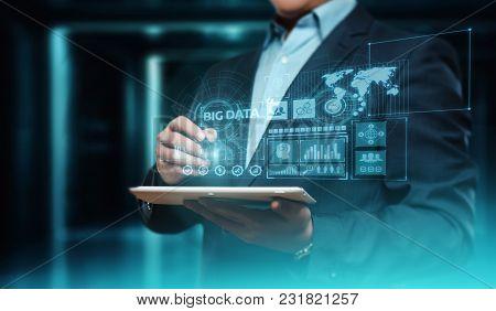 Big Data Internet Information Technology Business Information Concept.