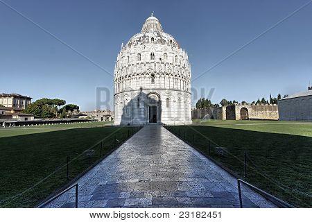 Baptistery Piazza dei Miracoli Pisa