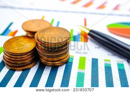Charts Graphs Paper. Financial Development, Banking Account, Statistics, Investment Analytic Researc