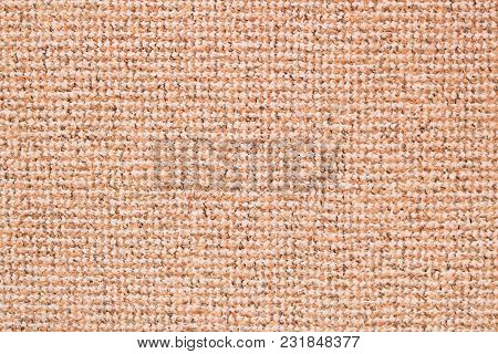 The Texture Of The Carpet . Detailed Beige Background .
