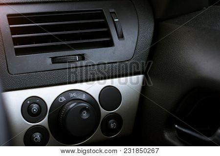 Control System Headlights And Air Conditioning Car