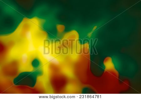 Abstract Blurred Cloudy Background Colorful Lights Spectrum