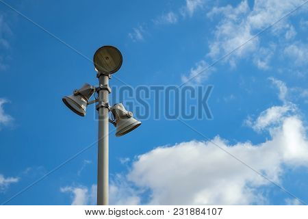 Pole With Reflectors
