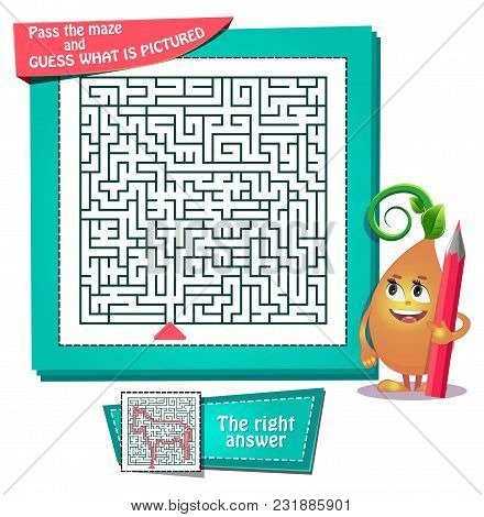 Maze  What Is Pictured Donkey