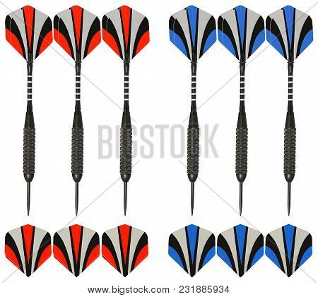 Six Peace Of Crossbow Target Arrows Are All Made With The Highest Quality Of Carbon Fiber. These Tar
