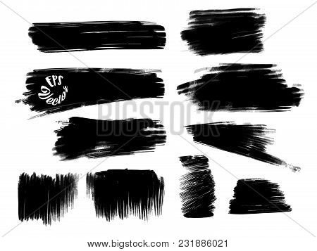 Chalk Strokes And Background Shapes. Vector Design Pattern
