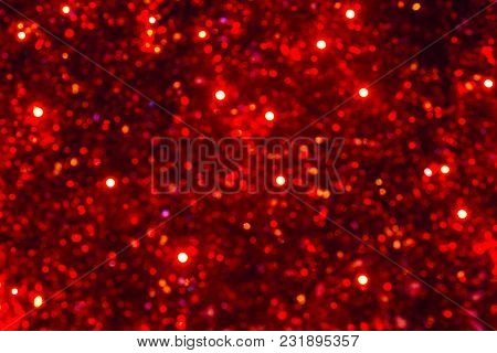 Colorful Blurred Color Bokeh Lamps Lighting Background