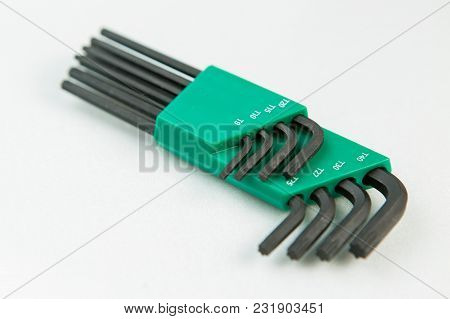 Bicycle Tools, Hub Cone Spanner Workshop Isolated