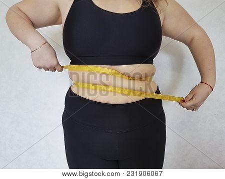 Waist Centimeter Excess Weight Plump, Fit, Torso, Measuring