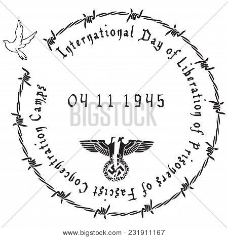 Symbol For International Day Of Liberation Of Prisoners Of Fascist Concentration Camps