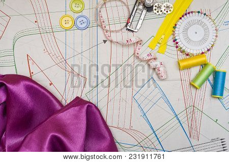 Sewing Accessories For Paper Patterns Copy Tools