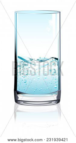 Drinking Glass, Cup, Bubble, Alcohol, Drink
