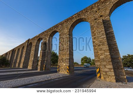 Aqueduct in Evora - Portugal