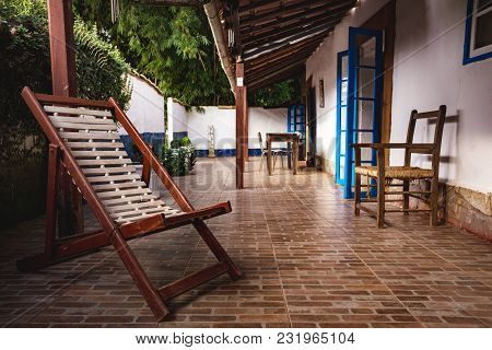 Small Patio With Tables And Chairs. Brazil