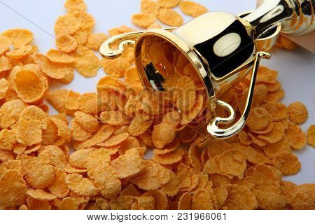 Corn Flakes Gold Cup Studio Quality Light