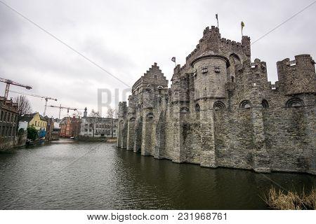 Ghent Gravensteen Castle