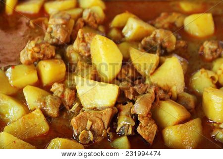 Massaman Curry With Chicken - A Delicious Thai Food