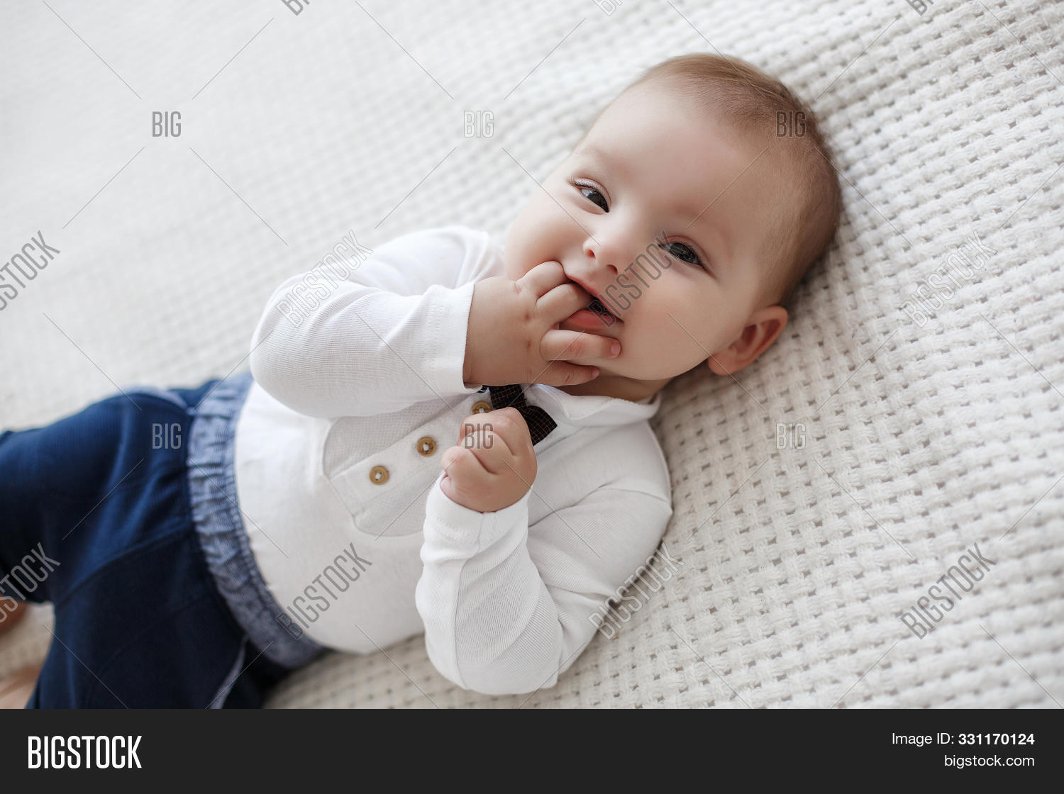 Adorable Baby Boy Image Photo Free Trial Bigstock Except that they've seen all the clothes she has in her closet! adorable baby boy image photo free