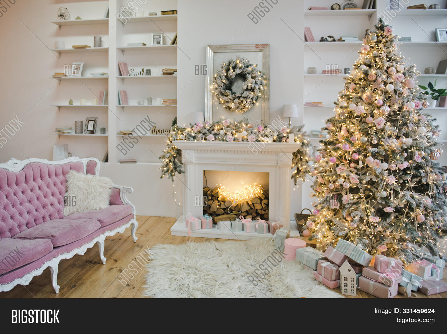Living Room Pastel Image Photo Free Trial Bigstock
