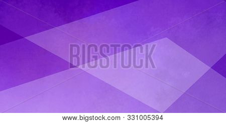 Purple Background With White Layers Of Textured Transparent Triangle Shapes In Geometric Design