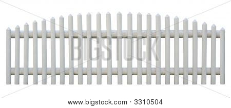 Seamless Picket Fence Cutout