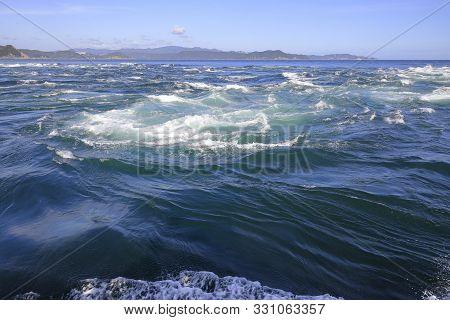 Naruto Whirlpools At Naruto Strait, Tokushima, Japan